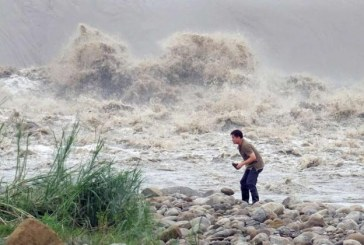 Typhoon Dujuan hits southwest China