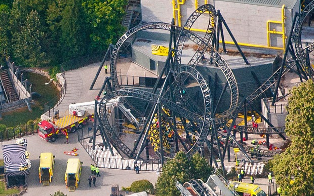 Medics win bravery award for breaking rules to save Alton Towers crash victim Leah Washington