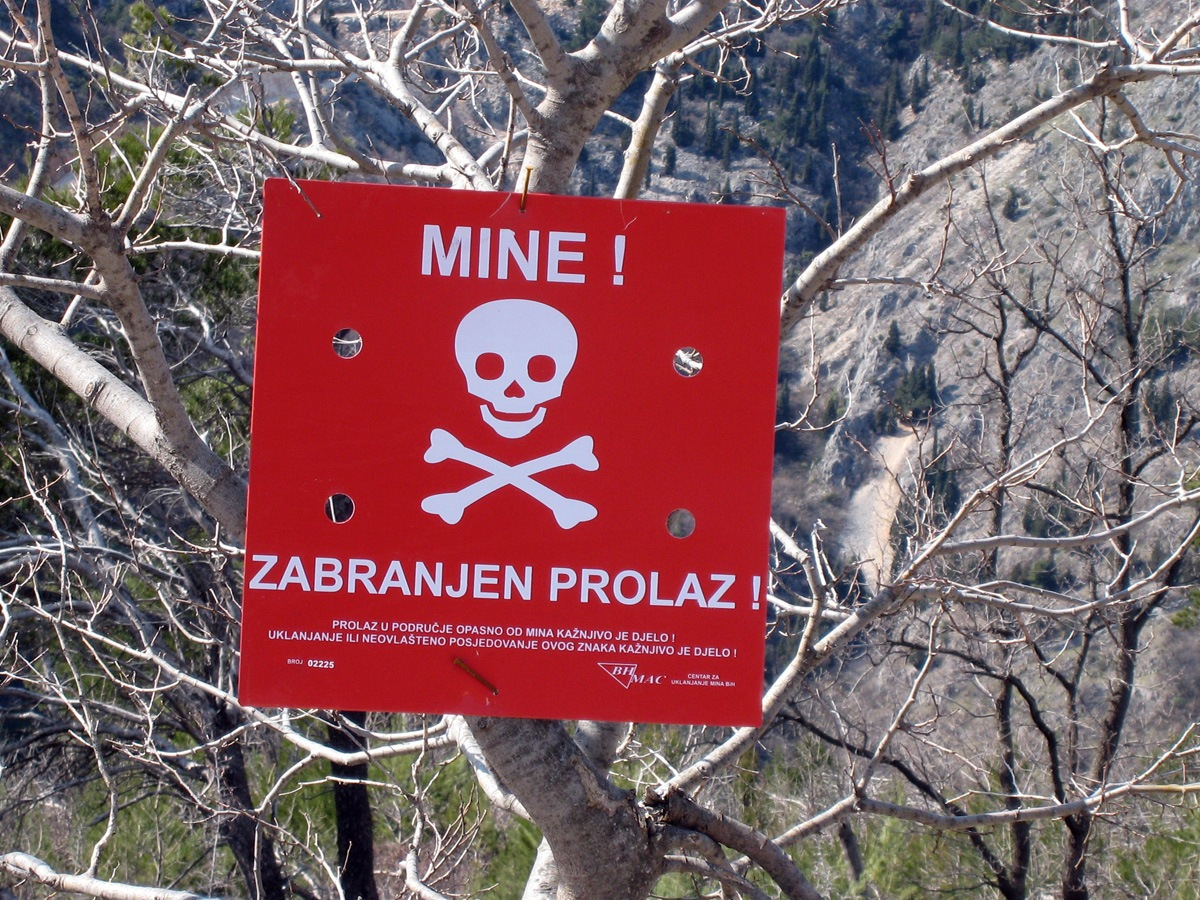 Refugee crisis – Warning over LAND MINES on Serbia-Croatia border