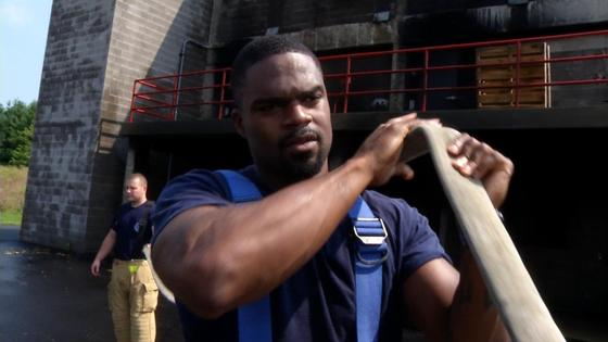 Former Buckeye and NFL Player Graduates Fire Academy