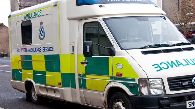 In Scotland there are 2800 addresses where ambulances are not allowed to go without police escort
