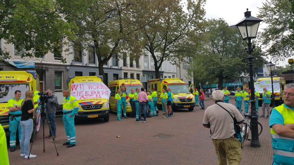 Why there is a paramedics' strike in Netherlands? | Emergency Live 6