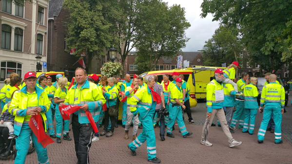 Why there is a paramedics' strike in Netherlands? | Emergency Live 8