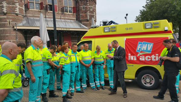 Why there is a paramedics' strike in Netherlands? | Emergency Live 9