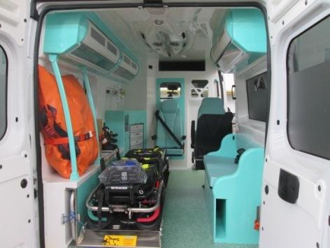 Emergencia en vivo | MAF Special Vehicles, ambulancias para todos los servicios de EMS en Europa image 12