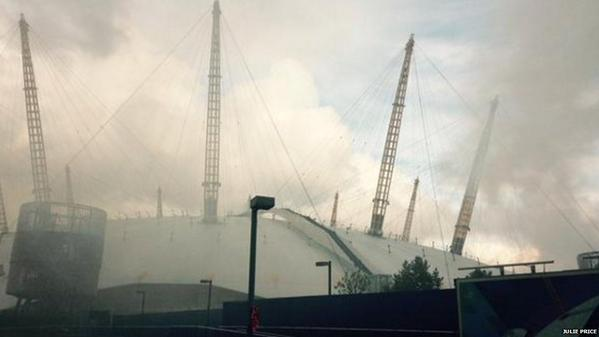 London Fire Brigade intervention in the O2 Arena – Update