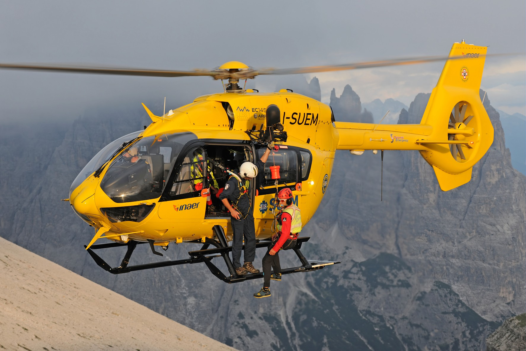 Elicottero H145 : The h has accumulated a total of flight hours