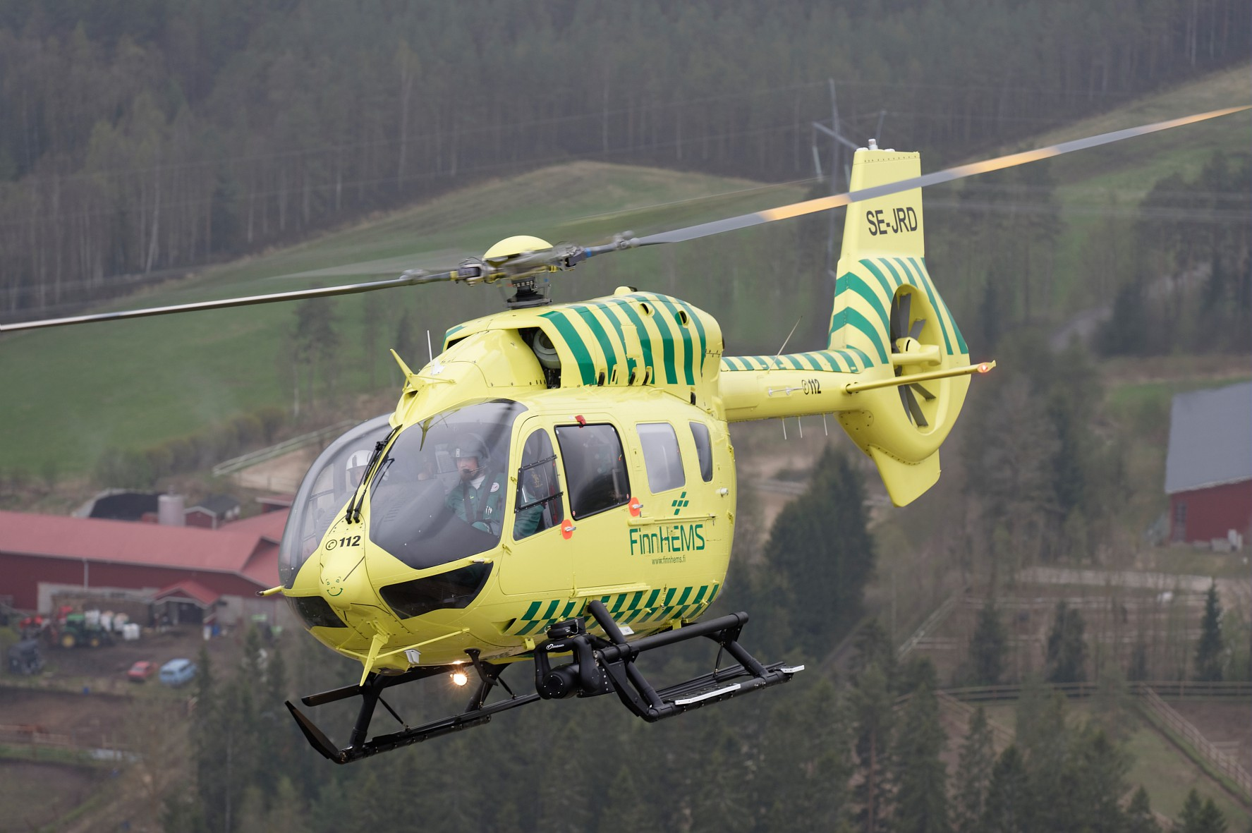 The H145 has accumulated a total of 10.000 flight hours