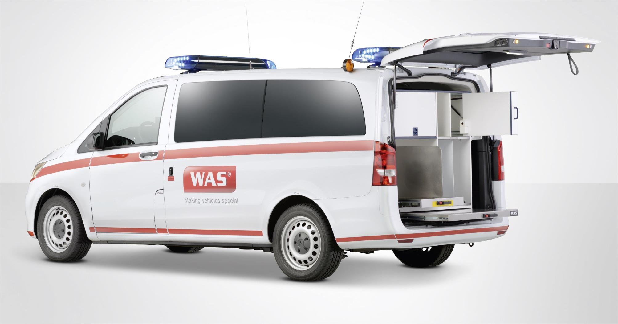 Emergencia en vivo | Primer vehículo de respuesta (rápida): el nuevo WAS 100 imagen 6