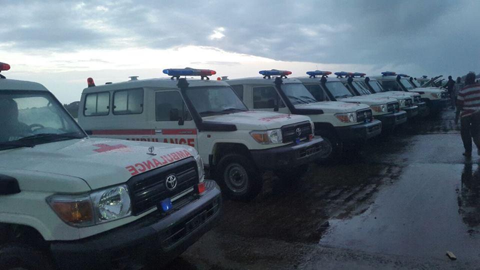 Where are the Sierra Leone's Ambulances?