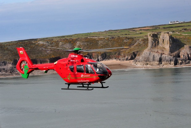 Wales -See the new air ambulance headquarter in Llanelli Gate
