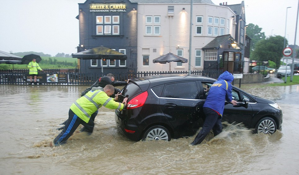 Flooding Leeds Yorkshire