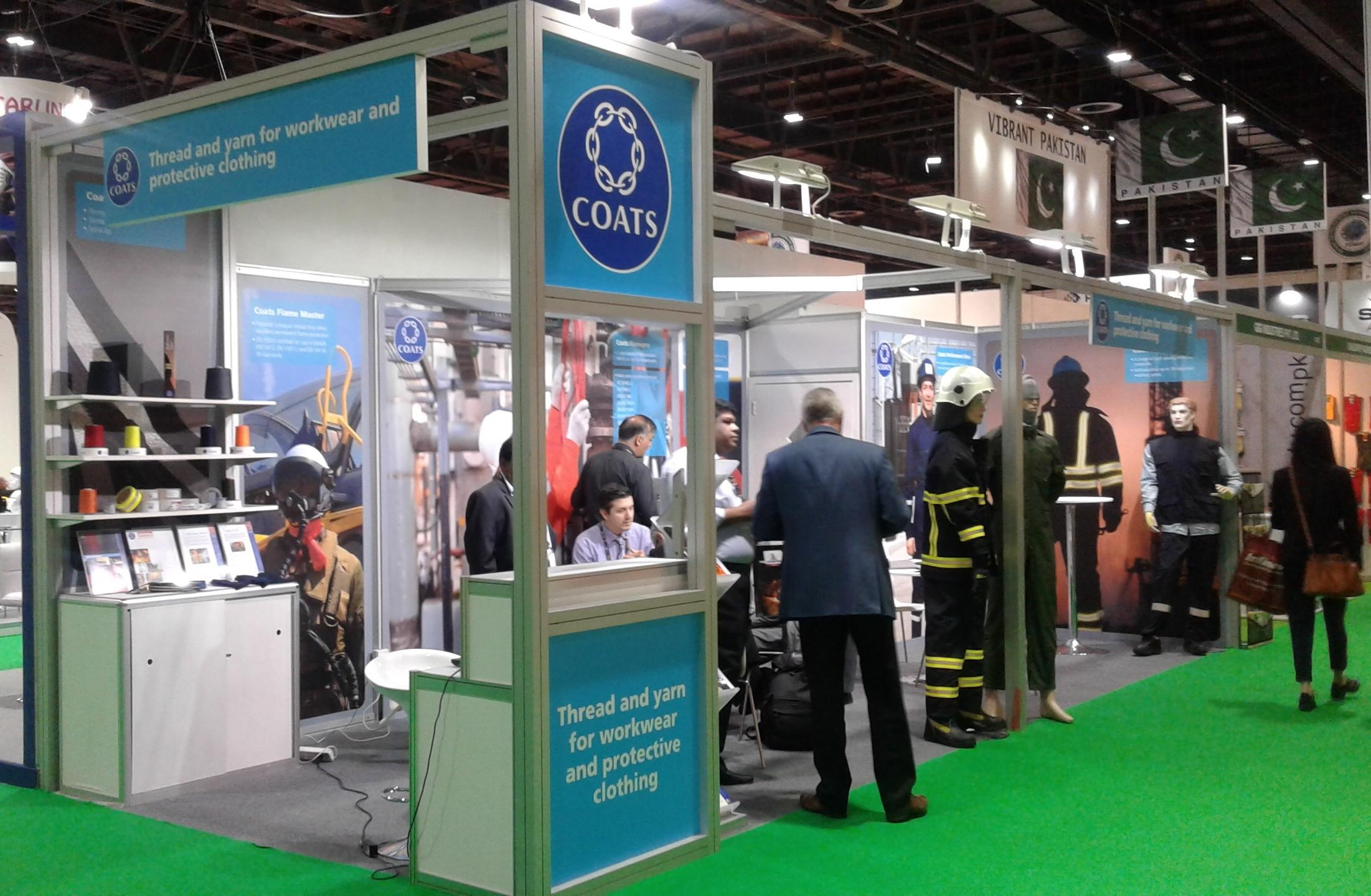 Coats showcases protective wear innovation at Intersec 2016