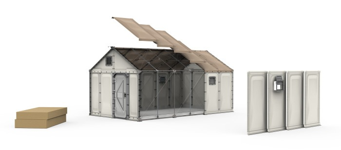 IKEA Shelter and fire safety, a temporary solution is not the final house for refugees
