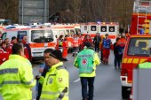 Germany train crash: Several killed near Bavarian town of Bad Aibling