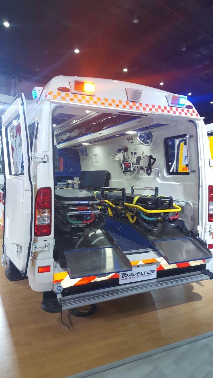 Automotive welcome a new segment: Ambulances and Emergency Vehicles | Emergency Live 5