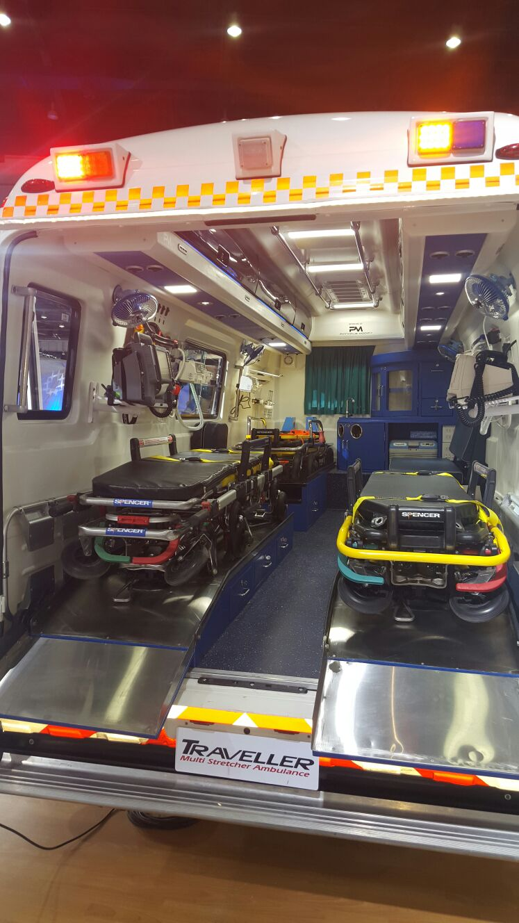 Automotive welcome a new segment: Ambulances and Emergency Vehicles | Emergency Live 9