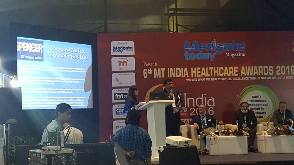 Emergency Live | Spencer India venceu a competição durante a 22ª MEDICAL FAIR INDIA em Mumbai. Imagem 2