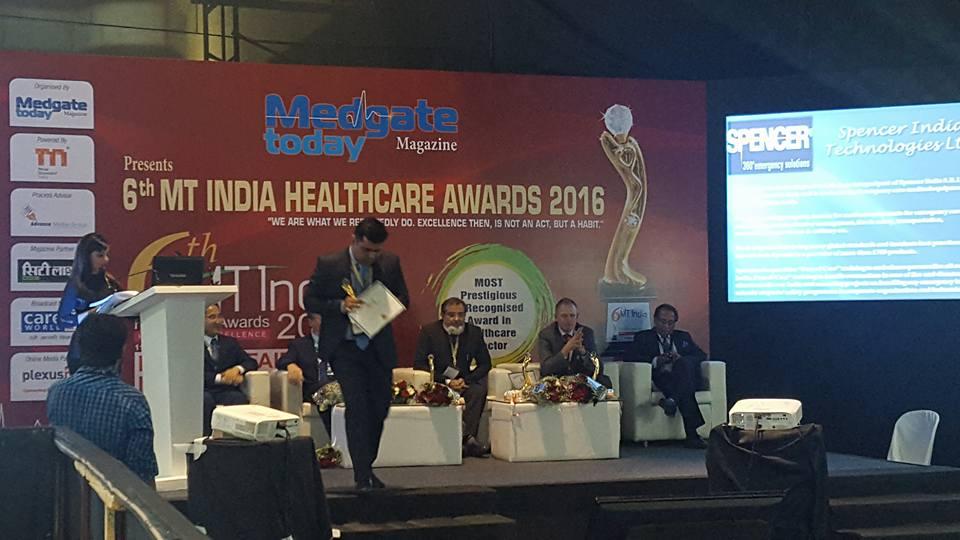 Emergency Live | Spencer India venceu a competição durante a 22ª MEDICAL FAIR INDIA em Mumbai. Imagem 3