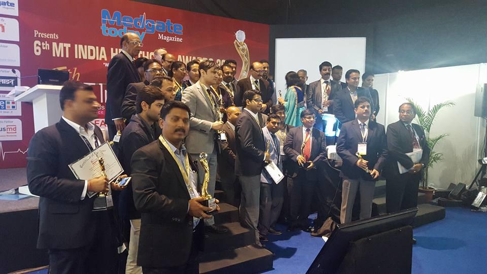 Emergency Live | Spencer India venceu a competição durante a 22ª MEDICAL FAIR INDIA em Mumbai. Imagem 4