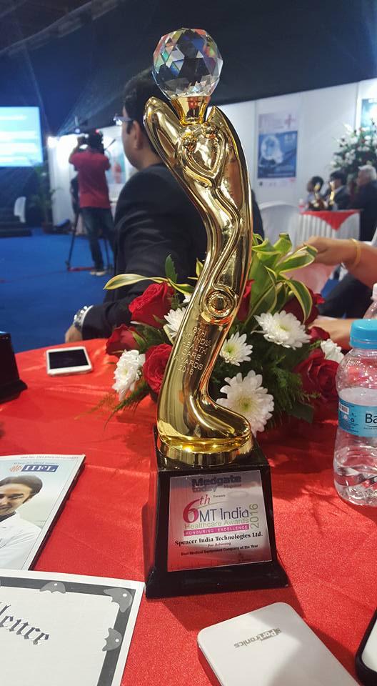 Emergency Live | Spencer India venceu a competição durante a 22ª MEDICAL FAIR INDIA em Mumbai. Imagem 5