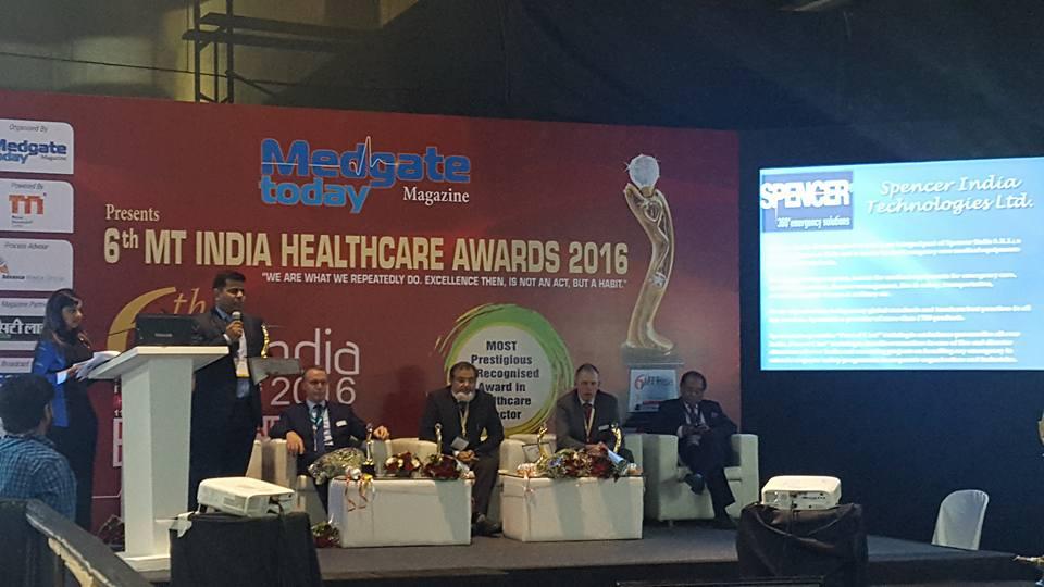 Emergency Live | Spencer India venceu a competição durante a 22ª MEDICAL FAIR INDIA em Mumbai. Imagem 6