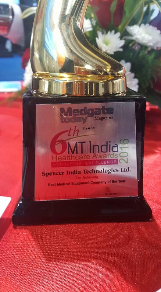 Emergency Live | Spencer India venceu a competição durante a 22ª MEDICAL FAIR INDIA em Mumbai. Imagem 7