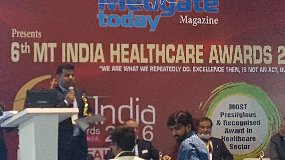 Emergency Live | Spencer India venceu a competição durante a 22ª MEDICAL FAIR INDIA em Mumbai. Imagem 1