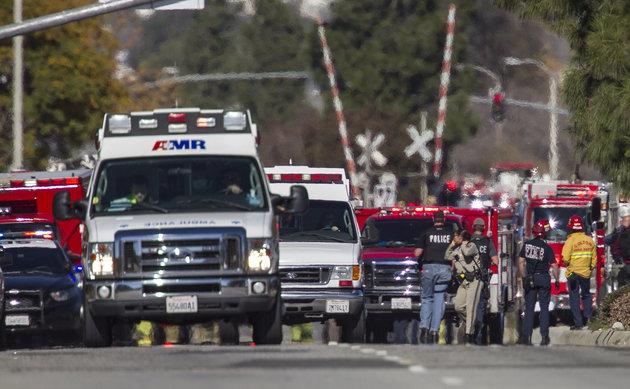 The San Bernardino, California, Terror Attack: Two Emergency Departments' Response