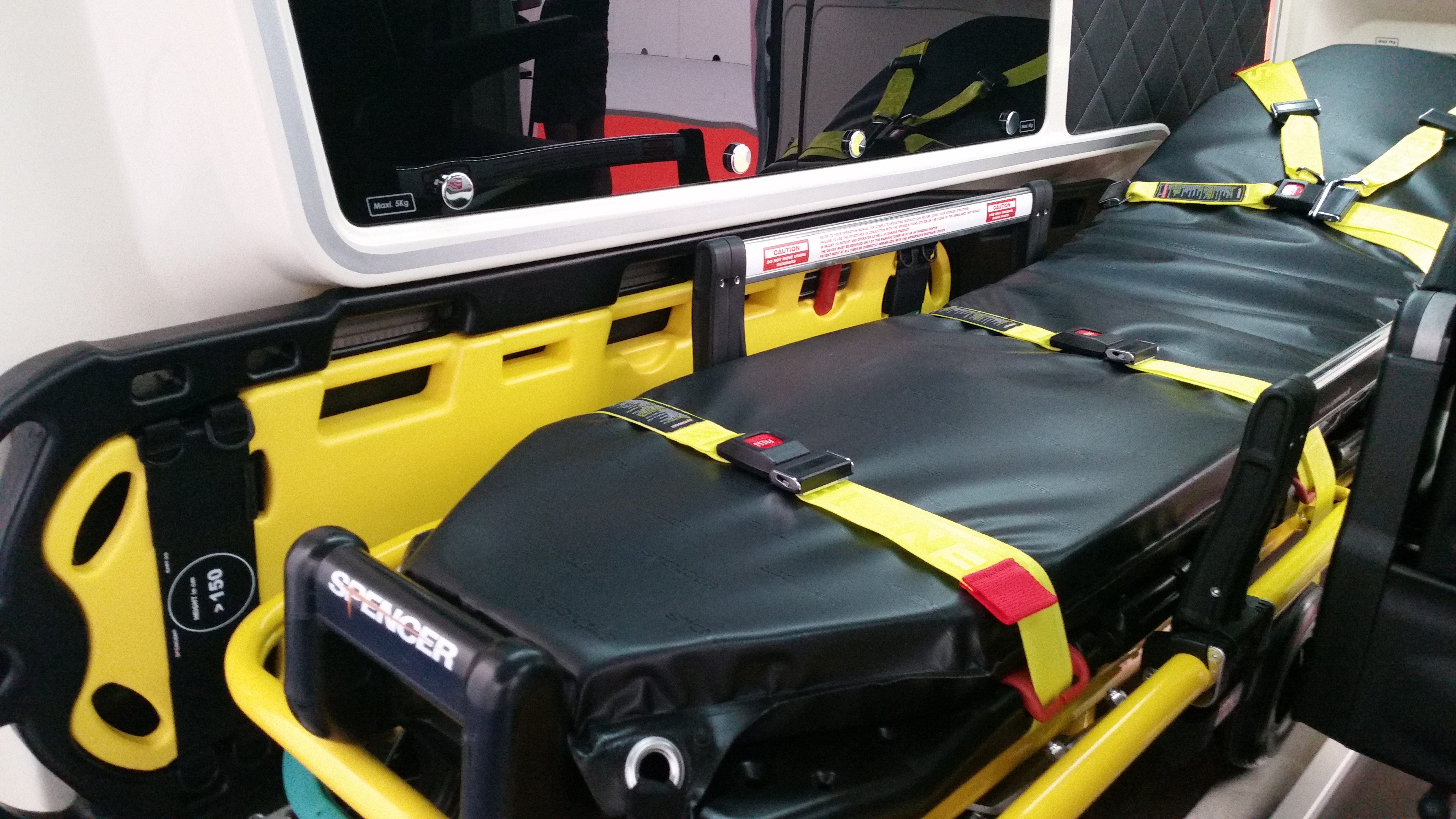 RETTmobil 2016, what about patient handling?