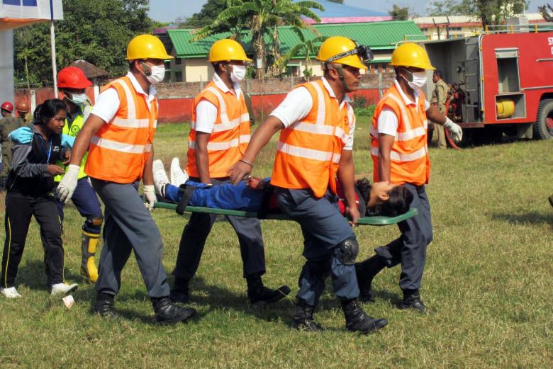 INDIA – Emergency management exercise (EMEx) in Assam: building sub national preparedness