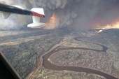 Fort McMurray fire: 88,000 people evacuated. Declared state of emergency