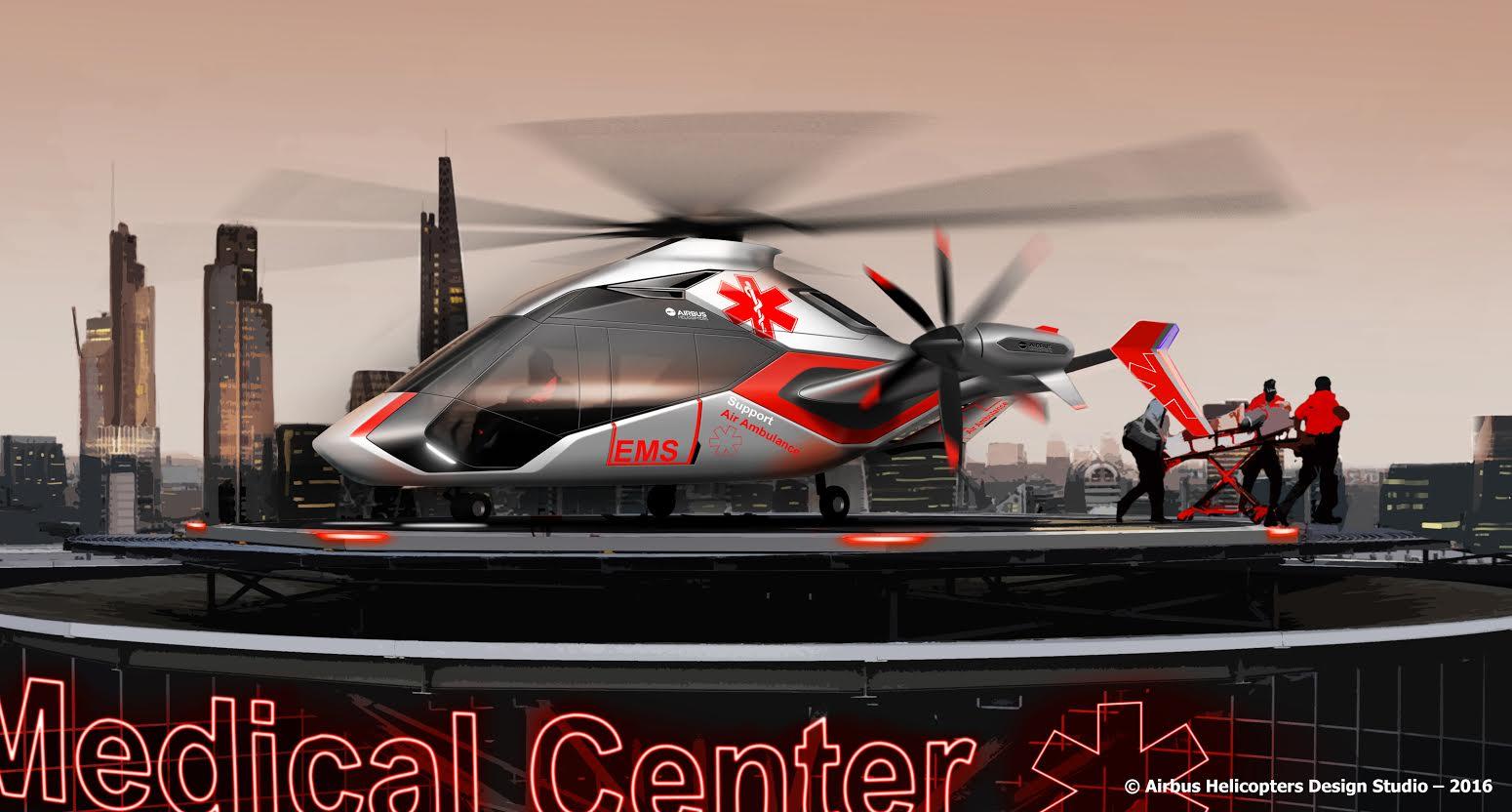 Emergencia en vivo | Airbus Helicopters avanza el demostrador eficiente de helicópteros Clean Sky 2 de alta velocidad - Imagen de la galería 3