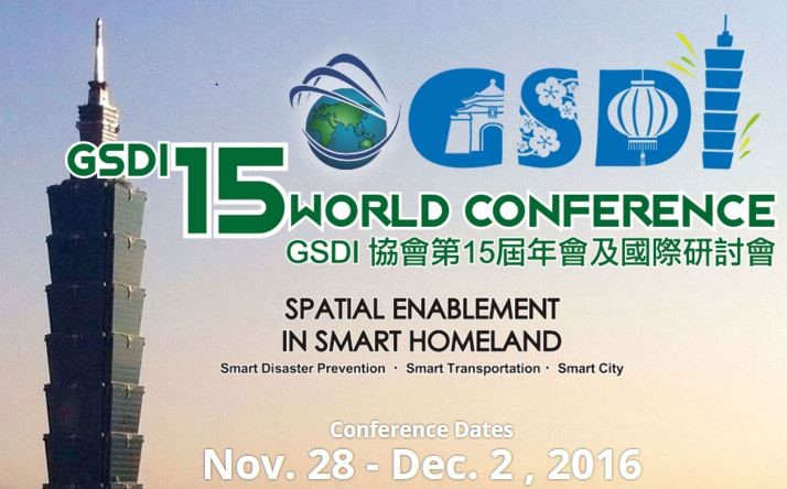 China – 15th Global Spatial Data Infrastructure Global Conference (GSDI15)