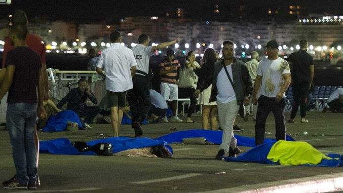 Live: Dozens killed as lorry ploughs into the crowd in Nice