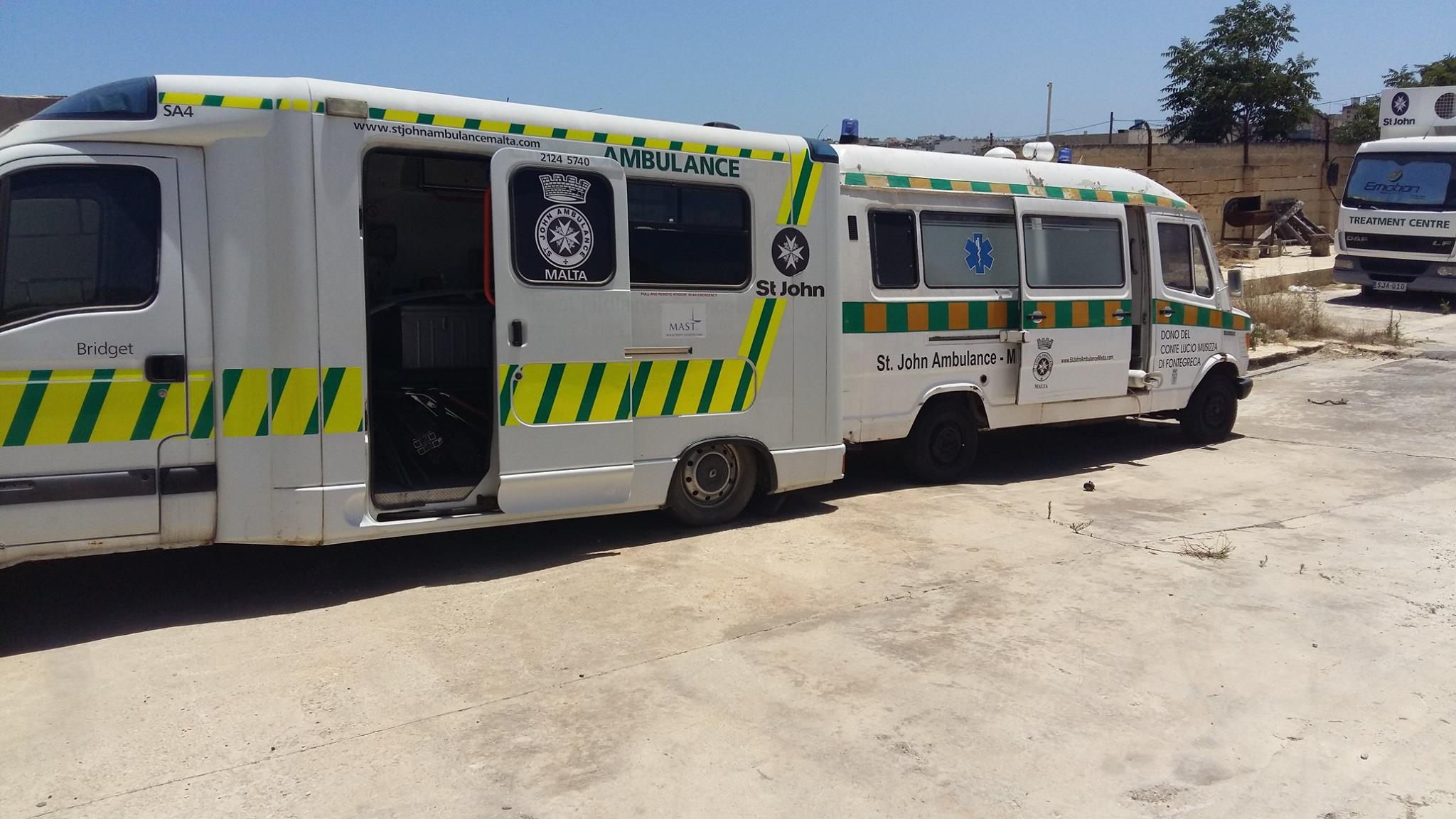 Malta, St John Ambulance victim of vandalism. They need your help, now!