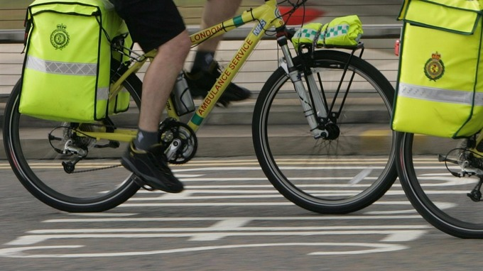 "Despicable ""you"" – Paramedic bike stolen while he was treating patient"