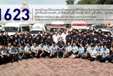 Why Vientiane Rescue is one of the most important example of EMS service in Asia?