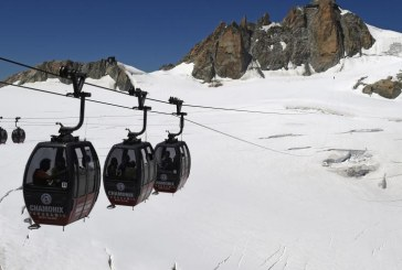 Mont Blanc: 110 people trapped in the cable car