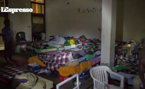 Immigration, prostitution, drug and slavery in a refugee center in Italy