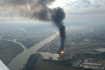 BASF Plant explosion in Germany – VIDEO