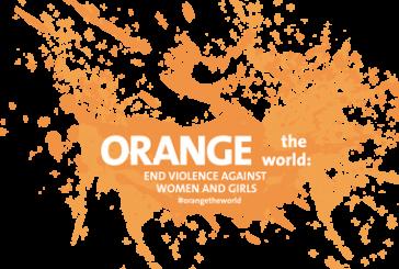 #ORANGETHEWORLD – International Day for the Elimination of Violence against women and girls