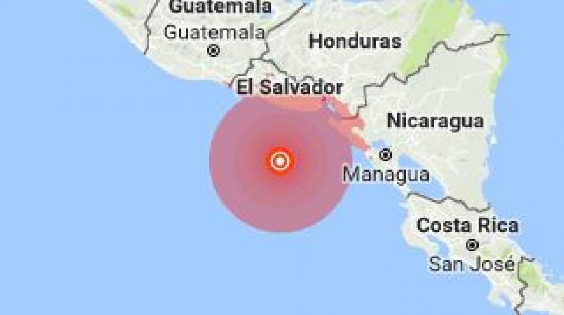 El Salvador – No damages after 7.2 magnitude earthquake