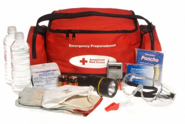 Emergency backpack: In case of emergency, earthquake or flood, we must be always ready!