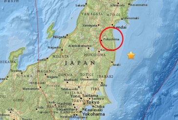 Japan – Earthquake and a small tsunami hit Fukushima