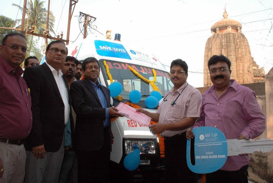 sbi life_red cross blood bank_odisha