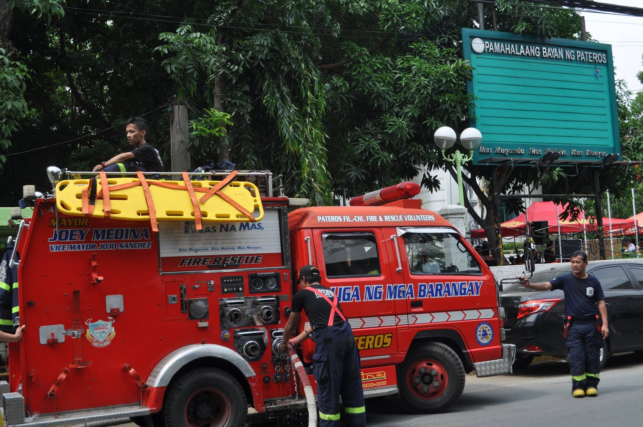 Pateros Volunteer Fire & Rescue Brigade from Philippines - 10th Year Anniversary | Emergency Live 9