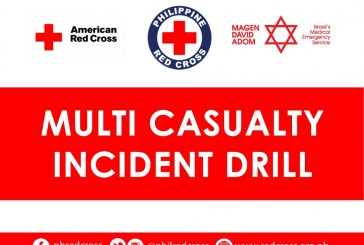 Philippine Red Cross in action with Multi Casuality Incident Drill