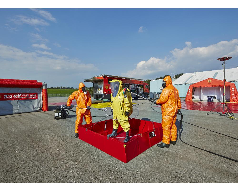 Urgence en direct | Rosenbauer fournit des véhicules de décontamination haut de gamme à la Corée du Sud image 3