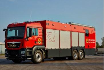 Rosenbauer is supplying high-end decontamination vehicles to South Korea
